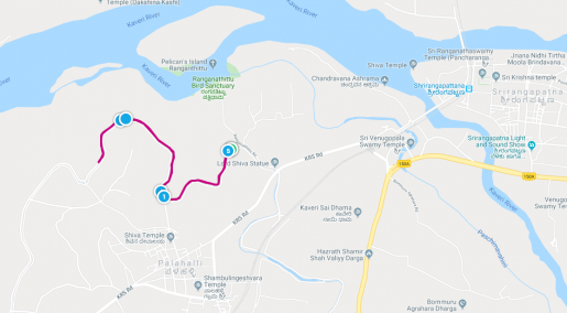 KTM - 5KM route map